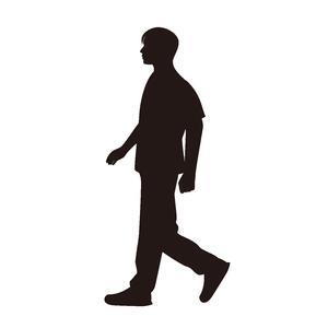 歩く人のイラスト