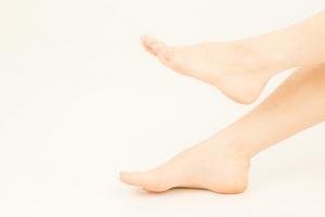 女性の下腿・足部
