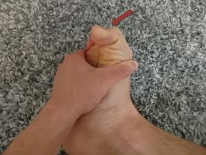 足趾を最後まで屈曲する