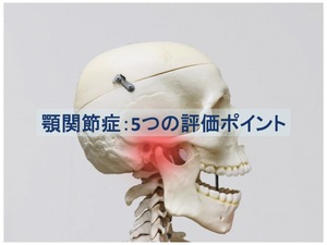 顎関節症5つの評価ポイントのトップ画像