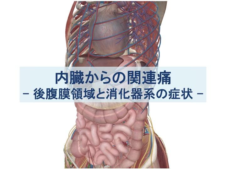後腹膜領域と消化器系の症状のトップ画像